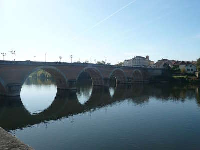 Vieux pont de bergerac guide touristique