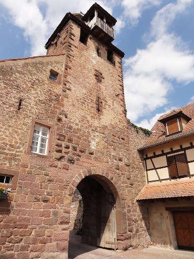 Wangen niedertor ou porte basse route des vins d alsace guide du tourisme de l alsace