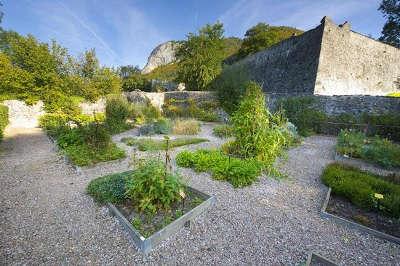 Abbaye d aulps jardin des simples herbularius routes touristiques de haute savoie guide du tourisme de rhone alpes