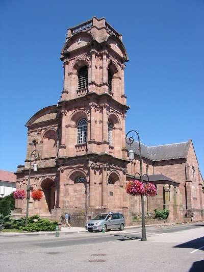 Abbaye saint pierre d etival routes touristiques des vosges guide du tourisme de la lorraine