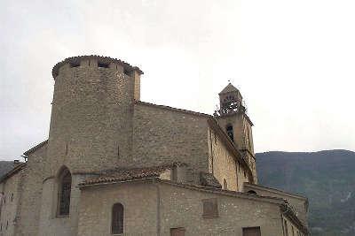 Annot villages et cite de caractere l eglise paroissiale saint jean baptiste routes touristique des alpes de haute provence guide du tourisme provence alpes cote d azur