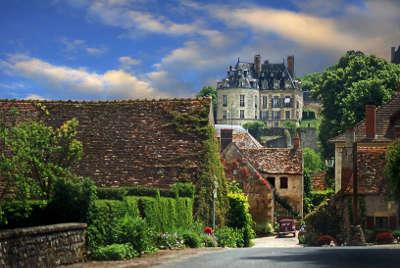 Apremont sur allier ruelle plus beau village de france les routes touristiques dans le cher guide du tourisme centre val de loire