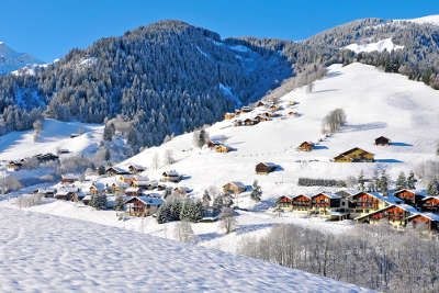 Areches station village de ski routes touristiques de savoie guide touristique de rhone alpes