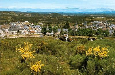Aumont aubrac routes touristique de la lozere guide du tourisme du languedoc roussillon