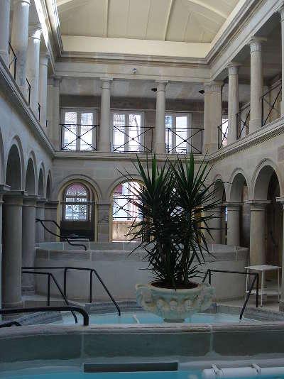 Bains les bains l interieur du bain romain routes touristiques des vosges guide du tourisme de la lorraine