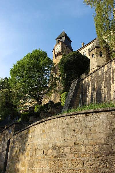 Bar le duc plus beau detours de france la tour de l horloge et une partie des fortifications encore debout routes touristiques de la meuse guide du tourisme de la lorraine