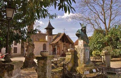 Barbizon village de caractere routes touristiques de seine et marne guide touristique ile de france