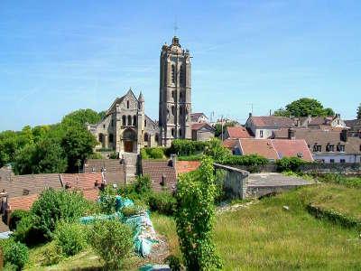 Beaumont sur oise eglise saint laurent routes touristiques du val d oise guide du tourisme d ile de france