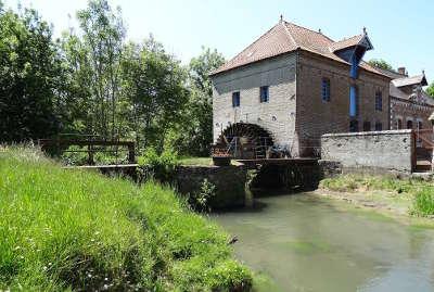 Beaurainville moulin a eau routes touristiques du pas de calais guide touristique nord pas de calais