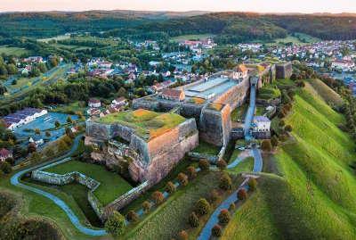 Bitche la citadelle routes touristiques de la moselle guide du tourisme de la lorraine