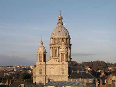 Boulogne sur mer la basilique notre dame routes touristiques du nord guide touristique nord pas de calais