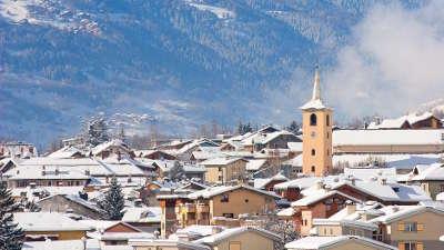 Bourg saint maurice station de ski routes touristiques de savoie guide touristique de rhone alpes