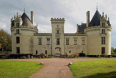 Breze le chateau routes touristiques de maine et loire guide du tourisme du pays de la loire