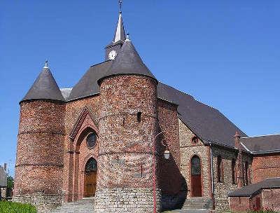 Burelles l eglise fortifiee saint martin de burelles routes touristique de l aisne guide du tourisme de picardie