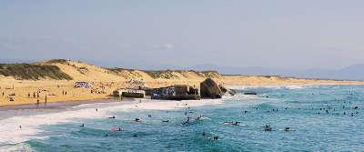 Capbreton plage route touristique guide du tourisme des landes nouvelle aquitaine