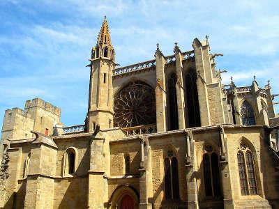 Carcassonne la basilique saint nazaire grand site de france ville dart et d histoire routes touristiques de aude guide du tourisme d occitanie