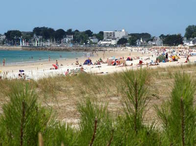 Carnac plage routes touristiques dans le morbihan guide du tourisme en bretagne