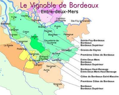 Carte Route Des Vins Bordeaux.La Route Des Bastides Une Route Des Vins De Bordeaux