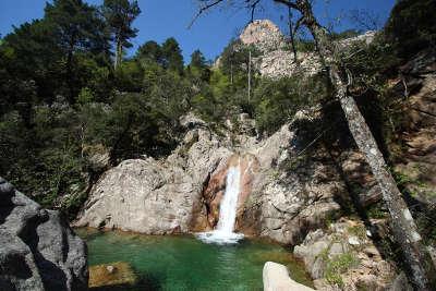 Cascades de purcaraccia routes touristiques en corse du sud guide du tourisme de la corse