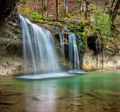 Cascades du herisson grand site de france les routes touristiques du jura guide touristique de franche comte