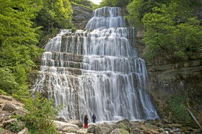 Cascades du herisson grand site de france routes touristiques du jura guide touristique de franche comte