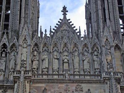 Cathedrale notre dame de reims les routes touristiques dans la marne guide du tourisme grand est