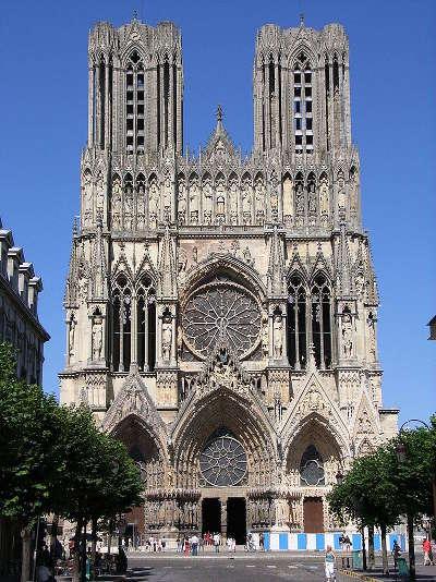 Cathedrale notre dame de reims routes touristiques dans la marne guide du tourisme grand est