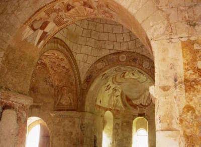 Chapelle st gilles fresque montoire routes touristiques dans le loir et cher guide du tourisme centre va