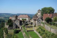 Chateau chalon plus beaux villages routes touristiques du jura guide touristique de franche comte