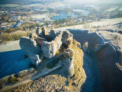 Chateau d arques la bataille routes touristiques de la seine maritime guide du tourisme de haute normandie