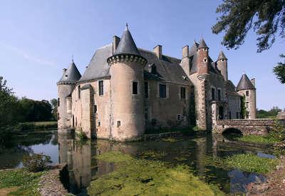 Chateau de boucard routes touristiques dans le cher guide du tourisme centre val de loire