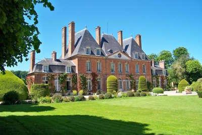 Chateau du mesnil geoffroy routes touristiques de seine maritime guide du tourisme de haute normandie