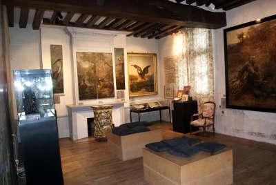 Chateau thierry musee jean de la fontaine les routes touristique de l aisne guide touristique de picardie