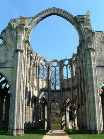 Chiry ourscamp abbaye notre dame routes touristique de l oise guide du tourisme de picardie
