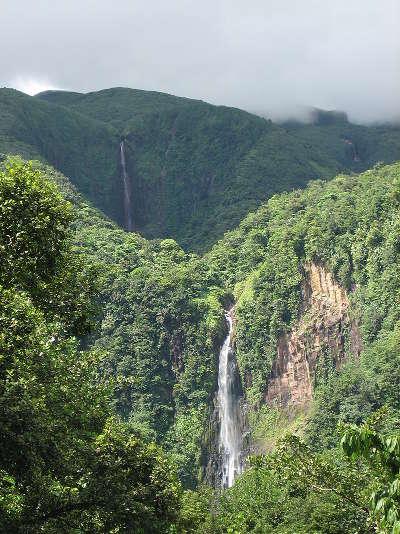 Chutes du carbet guadeloupe route touristique d outre mer guide du tourisme de guadeloupe