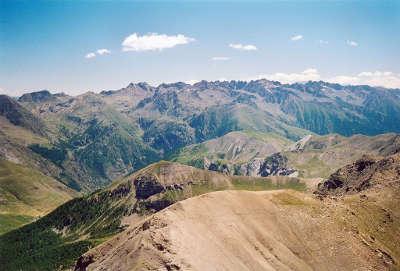Cime de la bonette panoramas depuis la cime routes touristique des alpes de haute provence guide du tourisme provence alpes cote d azur
