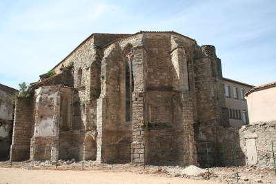 Clermont l herault chapelle des dominicains routes touristique de l herault guide du tourisme du languedoc roussillon