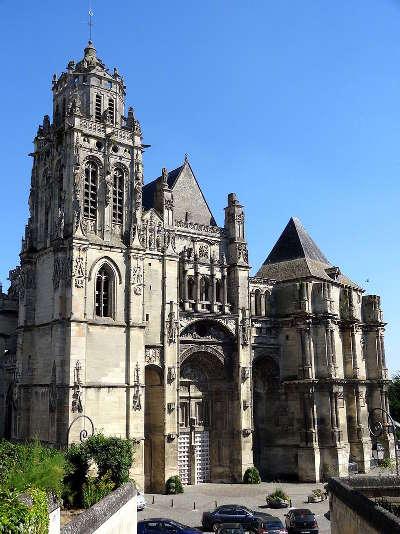 Collegiale saint gervais saint protais gisors les routes touristiques de eure guide touristique de haute normandie
