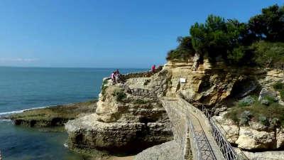 Cote de beaute la plage des nonnes a meschers les routes touristique de charente maritime guide du tourisme poitou charente
