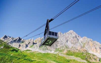 Courchevel station de ski les routes touristiques de savoie guide touristique de rhone alpes
