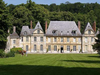 Duclair chateau du taillis routes touristiques de seine maritime guide du tourisme de haute normandie