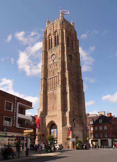 Dunkerque le beffroi routes touristiques du nord guide touristique nord pas de calais
