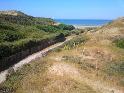 Ecault chemin vers la plage routes touristiques du nord guide touristique nord pas de calais