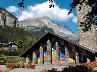 Eglise notre dame de toute grace les routes touristiques de haute savoie guide du tourisme de rhone alpes