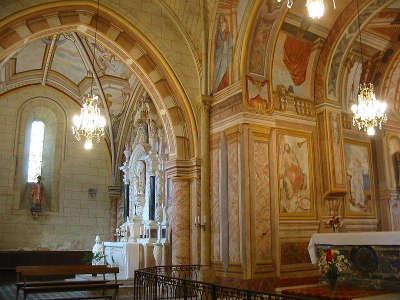 Eglise saint denis d aubigne sur layon petite cite de caractere ruelle routes touristiques de maine et loire guide du tourisme du pays de la loire