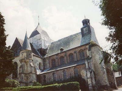 Eglise saint laurent de rozoy sur serre routes touristique de l aisne guide du tourisme de picardie
