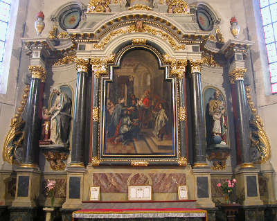 Eglise saint patern a vannes les routes touristiques dans le morbihan guide du tourisme en bretagne