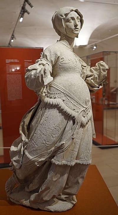 Elisabeth provenant de l eglise saint etienne de saint mihiel routes touristiques de la meuse guide du tourisme de la lorraine