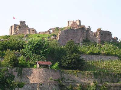Epinal les ruines du chateau routes touristiques des vosges guide du tourisme de la lorraine