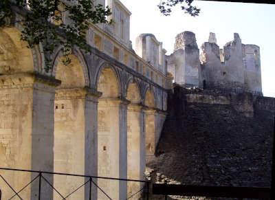 Fere en tardenois ruines du chateau routes touristique de l aisne guide du tourisme de picardie